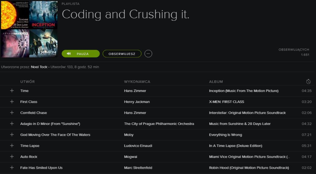 coding and crushing