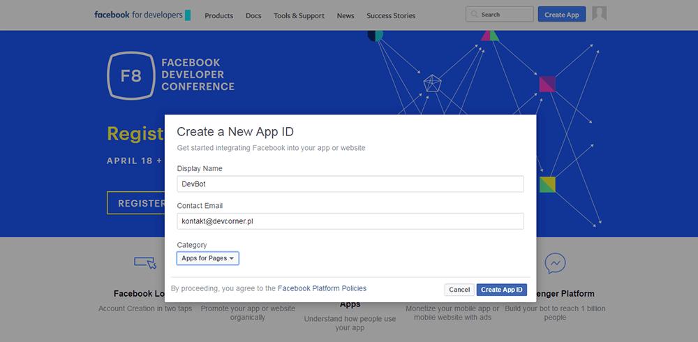 nowa aplikacja fb