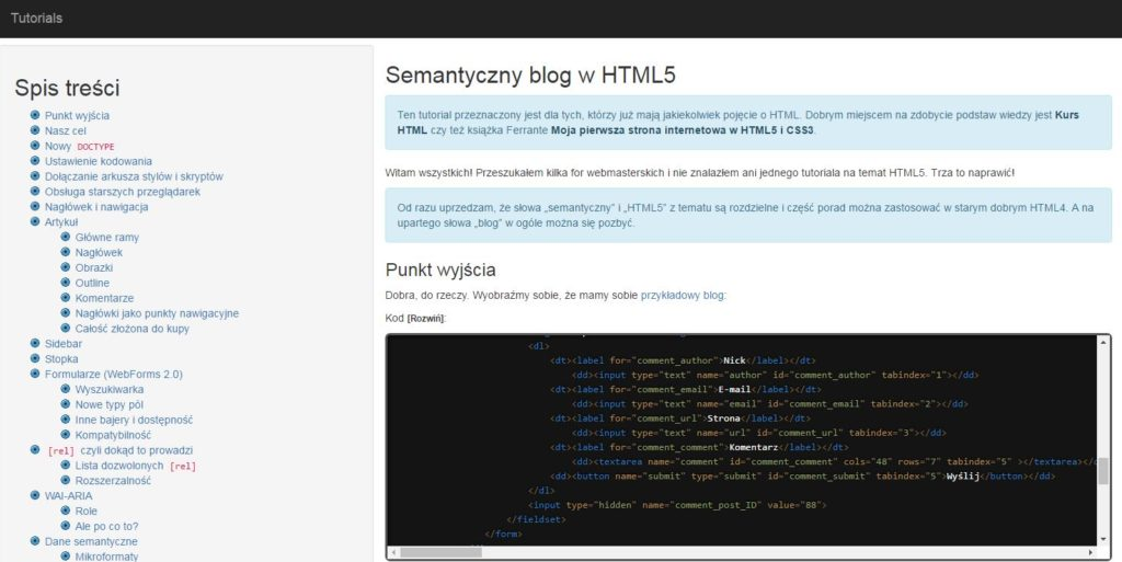 comandeer blog html5