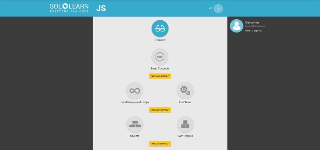sololearn js